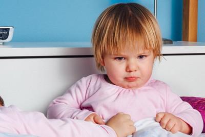 תינוקת כועסת