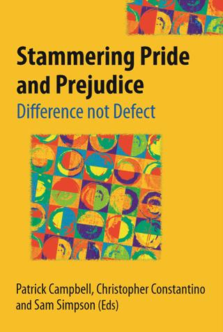 כריכת הספר Stammering Pride and Prejudice